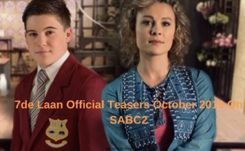 7de Laan Official Teasers October 2019 On SABC2