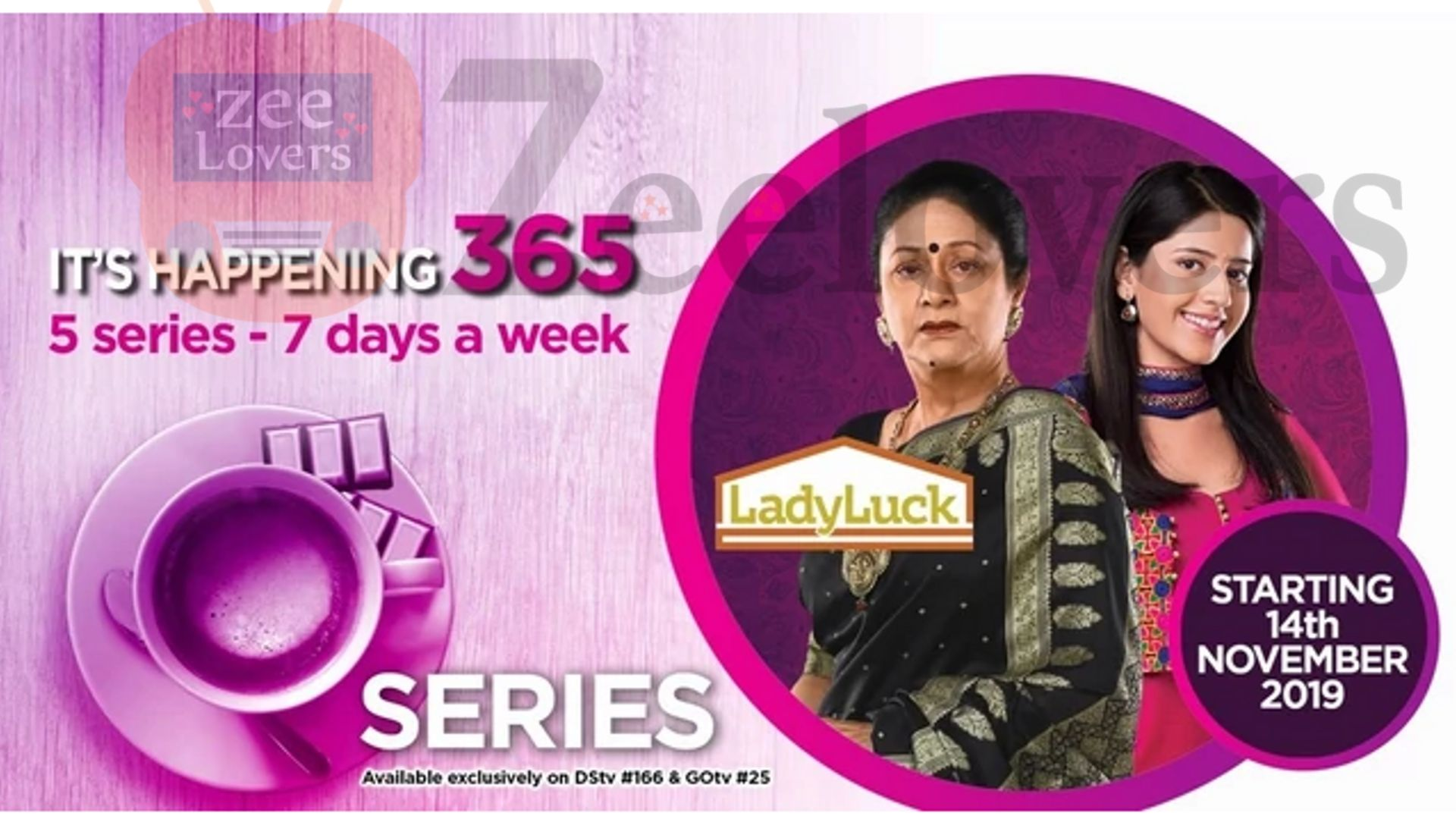 Zee World exciting lineup for 2020 - Lady Luck