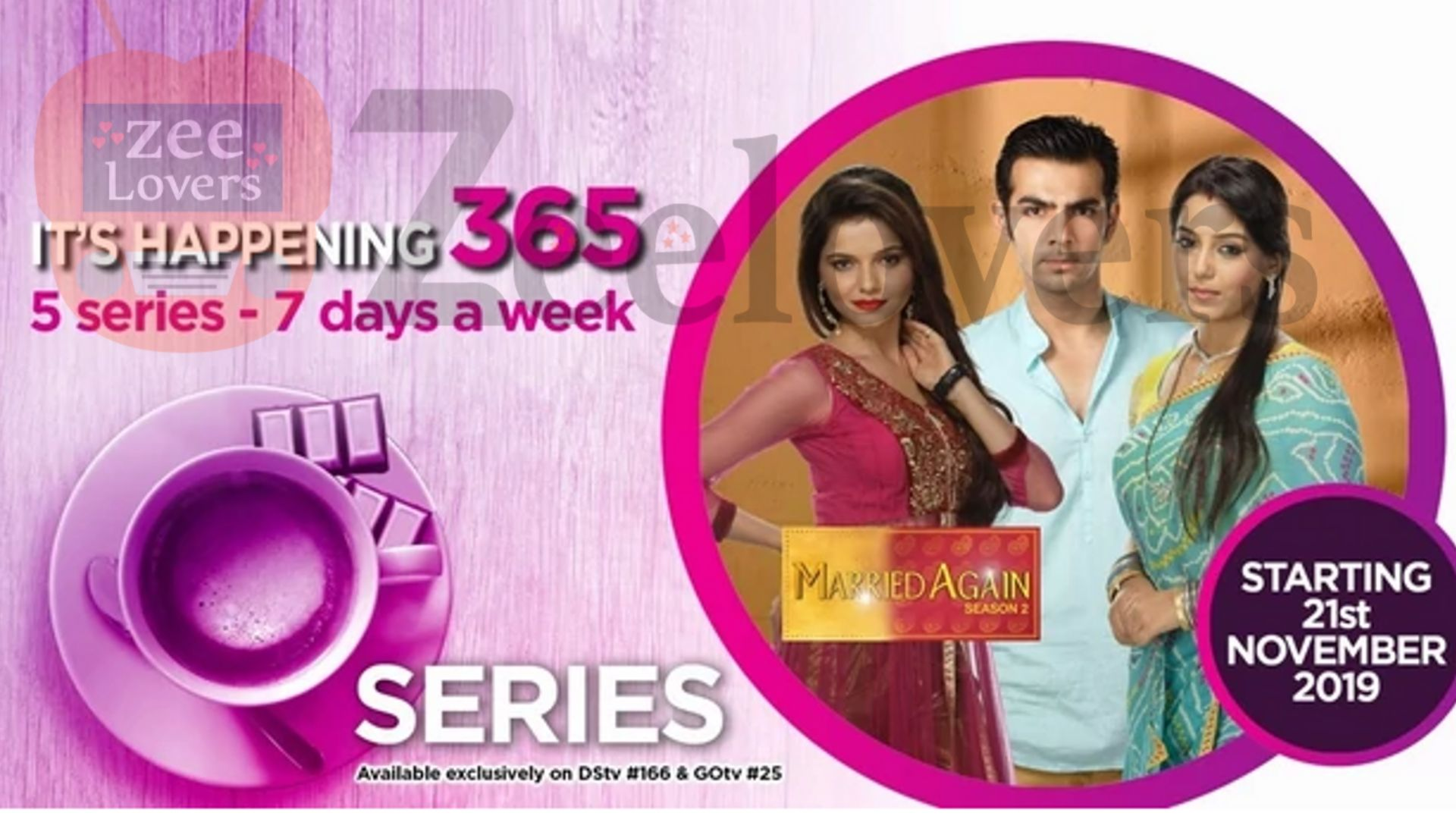 Zee World exciting lineup for 2020 - Married Again Season 2