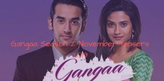 Gangaa Season 2 November teasers 2019