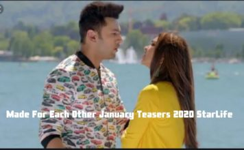 Made For Each Other January Teasers 2020 StarLife