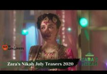 Zee World Zara's Nikah July Teasers 2020