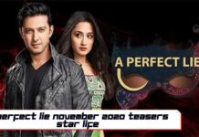 A Perfect Lie November 2020 Teasers Star life