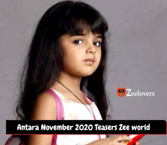 Antara November 2020 Teasers Zee world