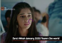 Zara's Nikah January 2020 Teasers Zee world