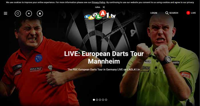 Laola1.tv Sports Streaming Site