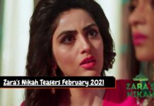 Zara Nikah Teasers February 2021 Zee world