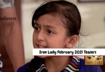 Iron Lady February 2021 Teasers