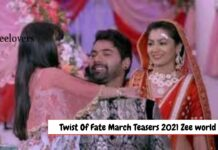 Twist Of Fate march Teasers 2021 Zee world