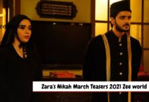 Zara's Nikah March Teasers 2021