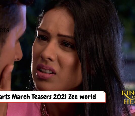 King of hearts March Teasers 2021 Zee world