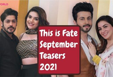 This is Fate September Teasers 2021